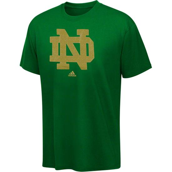 Notre Dame Fighting Irish Emerald Isle Classic Dublin Celtic Pattern Youth T-Shirt