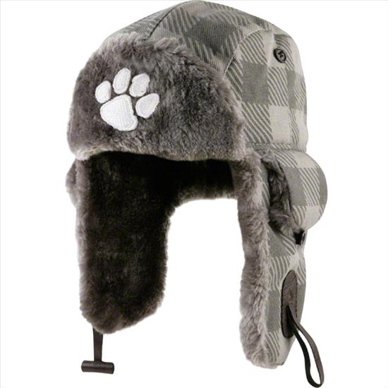 Clemson Tigers Grey Buffalo Bog Plaid Trooper Hat