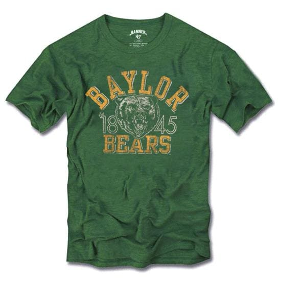 Baylor Bears '47 Brand Vintage Scrum Tee