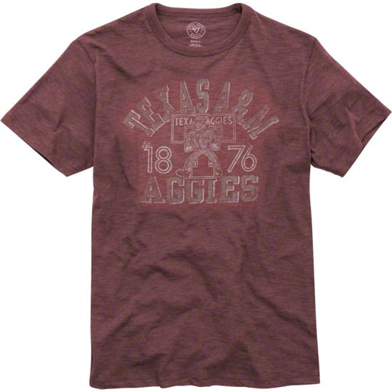 Texas A&M Aggies '47 Brand Vintage Scrum Tee