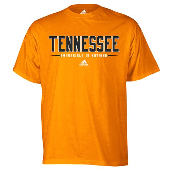 Tennessee Volunteers Orange adidas Half Moon T-Shirt