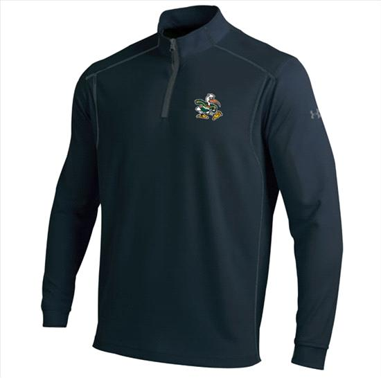 Miami Hurricanes Under Armour Predator 1/4 Zip Performance Mock