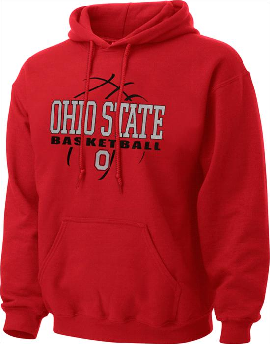 Ohio State Buckeyes Primer Basketball Hooded Sweatshirt