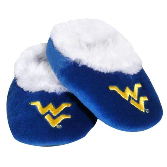 West Virginia Mountaineers Baby Bootie Slipper