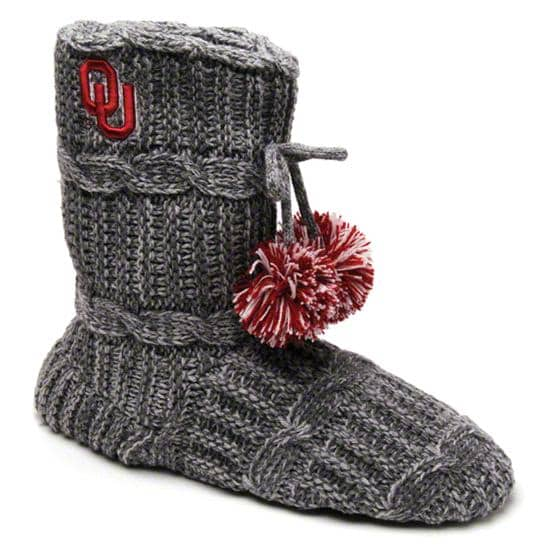 Oklahoma Sooners Women's Knit Fashion Bootie