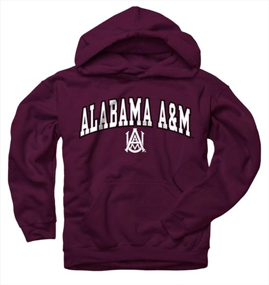 Alabama A&M Bulldogs Youth Maroon Perennial II Hooded Sweatshirt