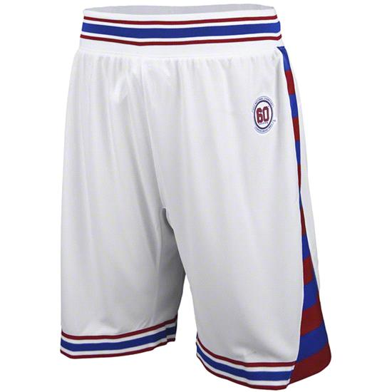 Kansas Jayhawks adidas White 1952 National Champions 60th Anniversary Replica Basketball Shorts