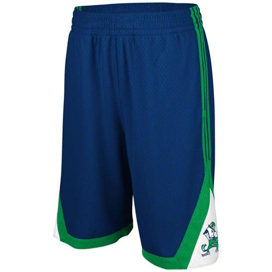 Notre Dame Fighting Irish Navy adidas Originals BTC Shorts