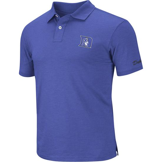 Duke Blue Devils Royal Choice Slub Knit Polo Shirt