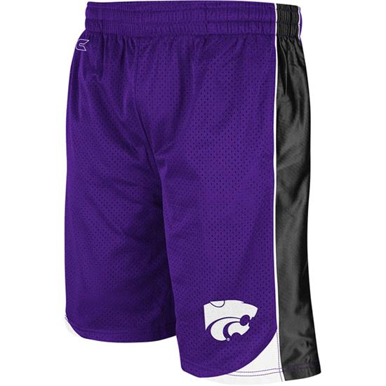 Kansas State Wildcats Purple Vector Shorts