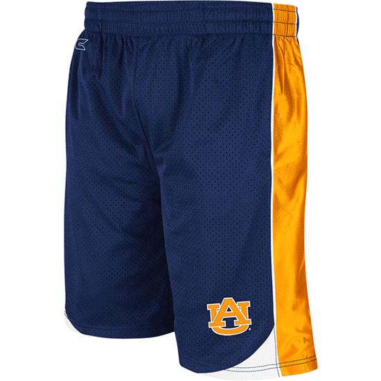 Auburn Tigers Navy Youth Vector Shorts