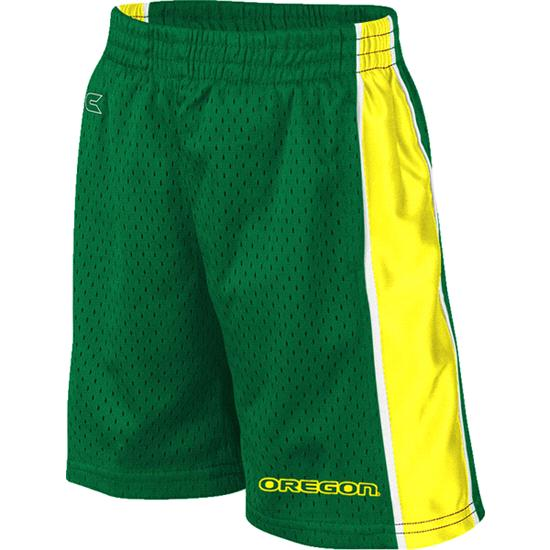 Oregon Ducks Green Toddler Vector Shorts