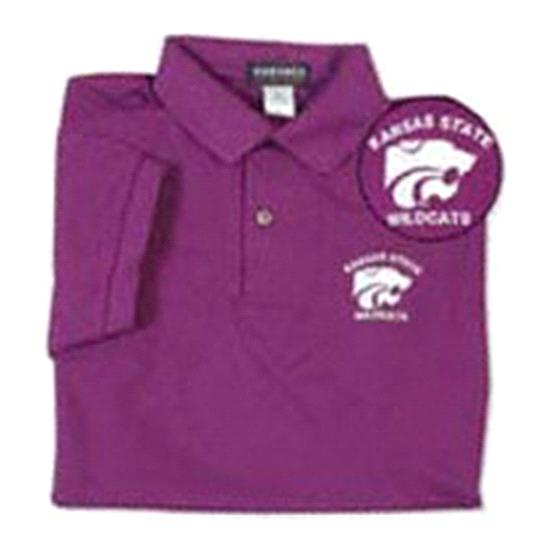 Kansas State Wildcats Cotton Polo Shirt