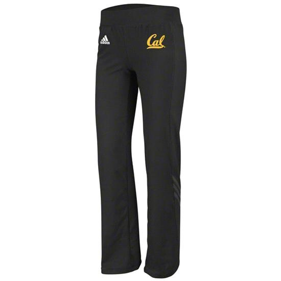 California Bears adidas Black Women's Primary Logo Training Pants