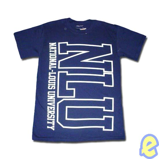 NLU Oversized Tee Navy