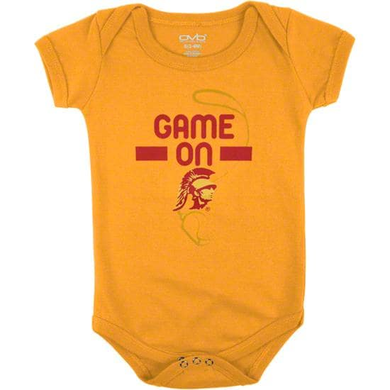 USC Trojans Infant Gold Construction Site Creeper