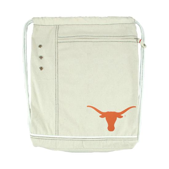 Texas Longhorns Natural Old School Cinch