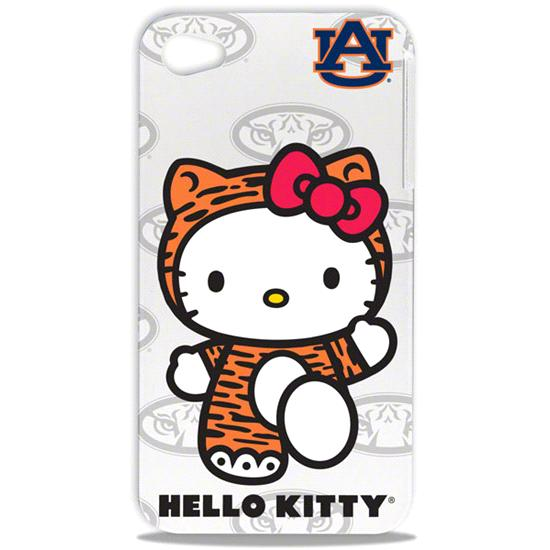 Auburn Tigers Hello Kitty iPhone 4/4S Hard Shell