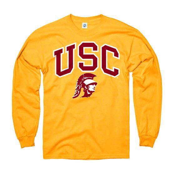 USC Trojans Youth Gold Perennial II Long Sleeve T-Shirt