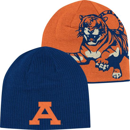 Auburn Tigers adidas Navy Homecoming Reversible Knit Hat