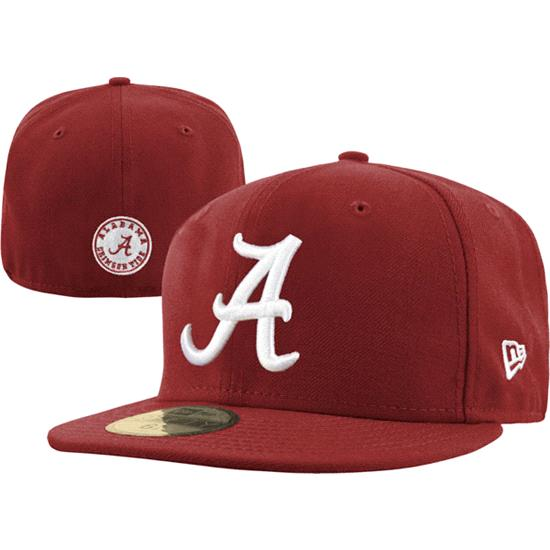 Alabama Crimson Tide New Era 59FIFTY Basic Fitted Hat