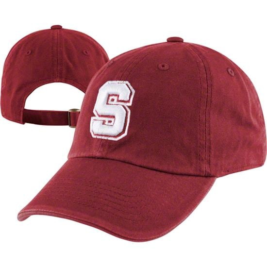 Stanford Cardinal Team Color Crew Adjustable Strapback Hat