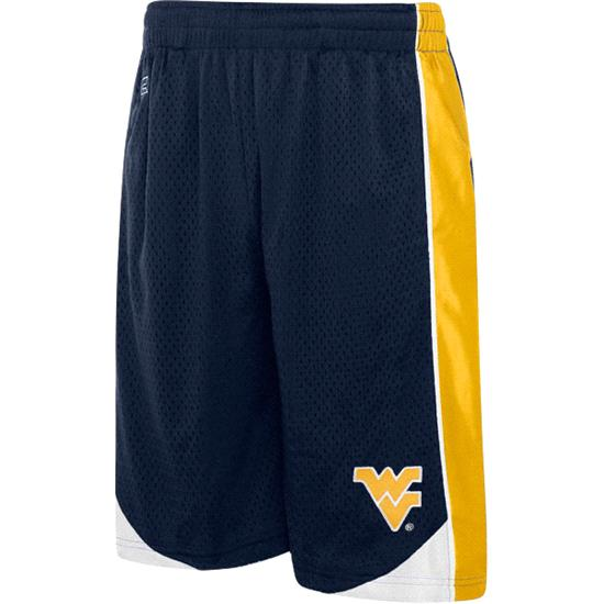 West Virginia Mountaineers Youth Vector Workout Short