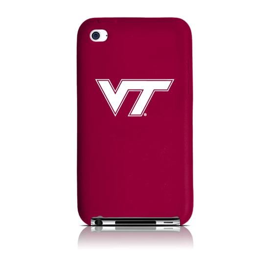 Virginia Tech Hokies iPod Touch 4G Silicone Cover