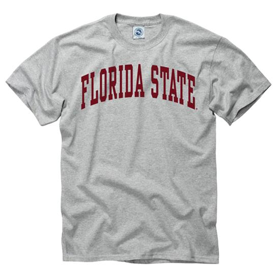 Florida State Seminoles Youth Grey Arch T-Shirt