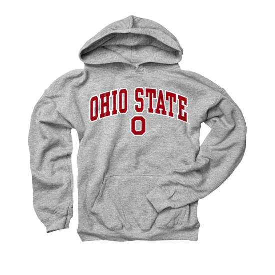 Ohio State Buckeyes Youth Sport Grey Perennial II Hooded Sweatshirt