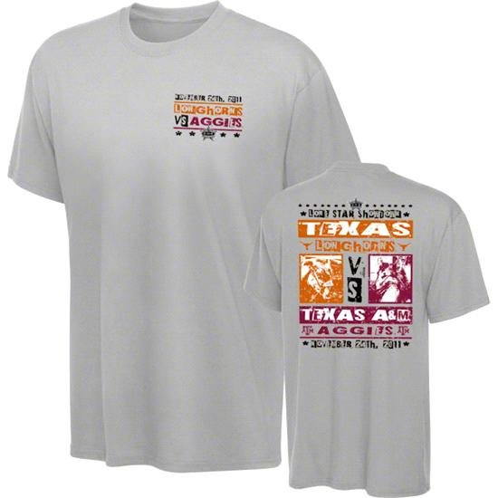 Texas Longhorns vs Texas A&M Aggies Lone Star Showdown Poster Youth T-Shirt
