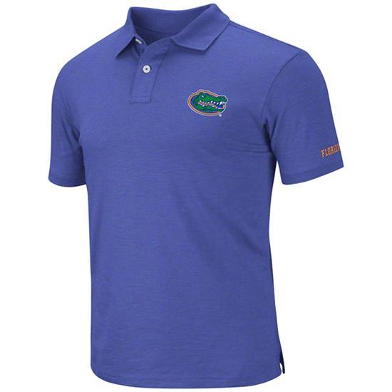 Florida Gators Royal Choice Slub Knit Polo Shirt