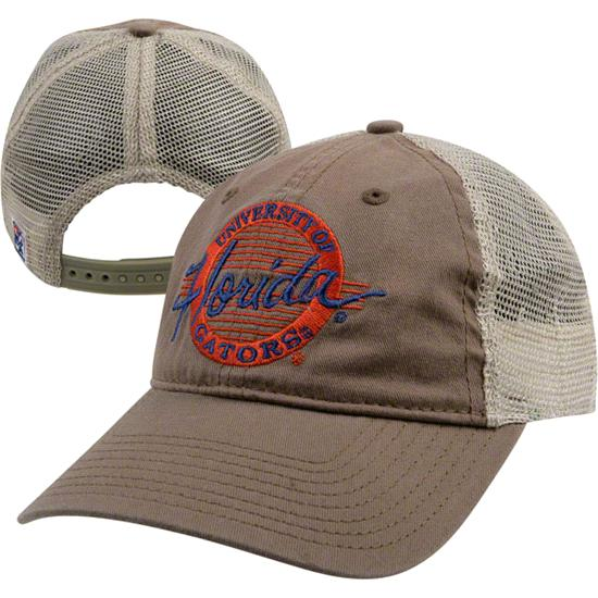 Florida Gators 'The Game' Khaki Original Circle Design Adjustable Hat