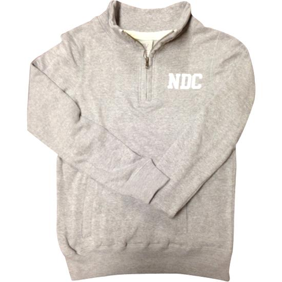 NDC Ladies Half-Zip Pullover - Heather