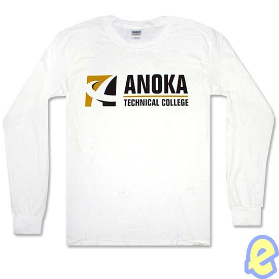 Anoka TC White Long Sleeve T-Shirt