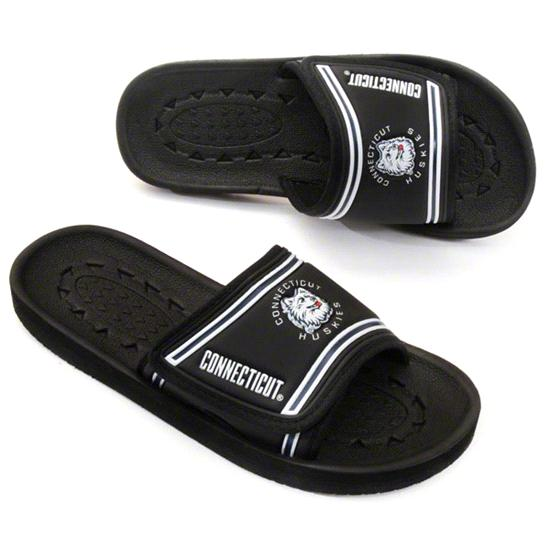 Connecticut Huskies Beach Hopper Slide Sandals