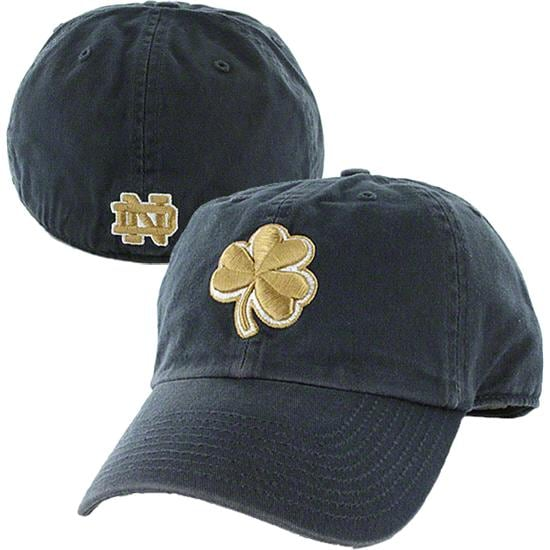 Notre Dame Fighting Irish Navy '47 Brand Franchise Fitted Hat