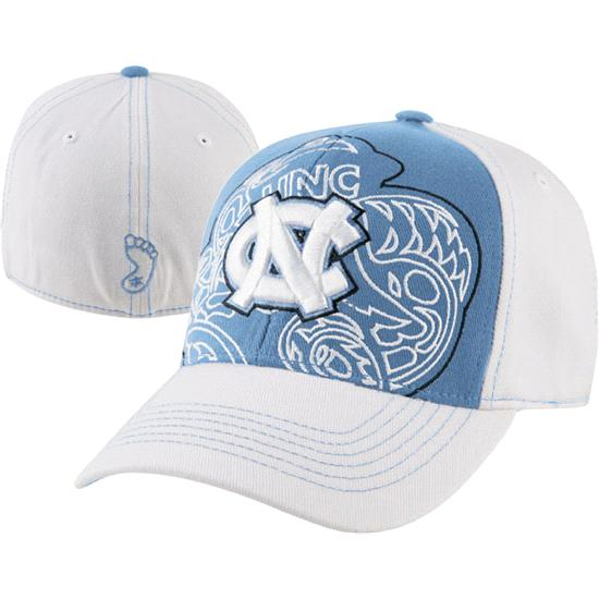 North Carolina Tar Heels Lt Blue Mixer Wool Stretch Fit Hat
