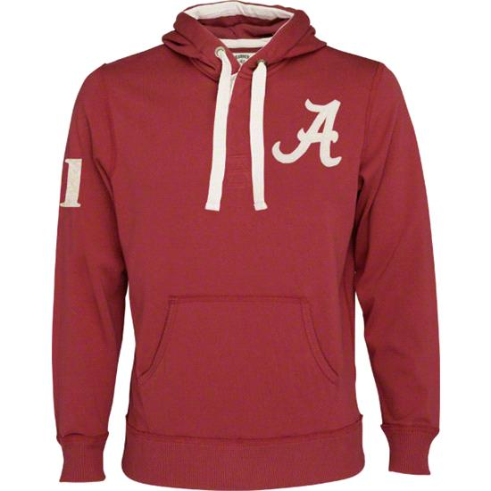 Alabama Crimson Tide '47 Brand Rugby Hoodie