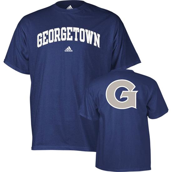 Georgetown Hoyas adidas Navy Relentless T-Shirt
