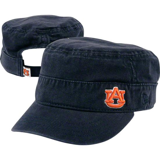 Auburn Tigers Women's New Era Military Adjustable Hat
