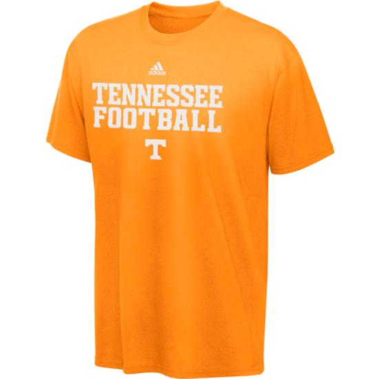 Tennessee Volunteers Toddler adidas Orange 2011 Official Football Practice T-Shirt