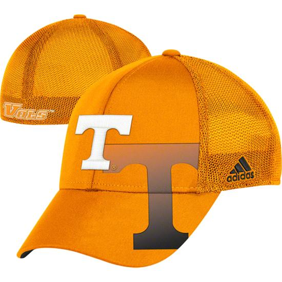 Tennessee Volunteers adidas Laser Cut Flex Hat