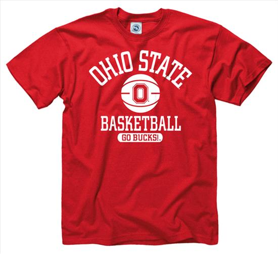Ohio State Buckeyes Basically Basketball T-Shirt