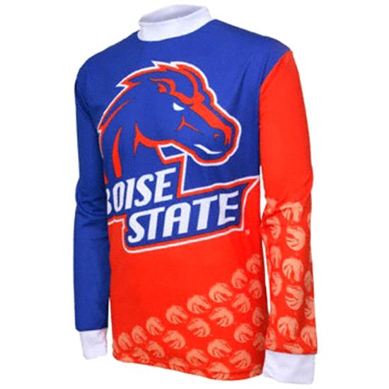 Boise State Broncos Long Sleeve Mountain Bike Jersey