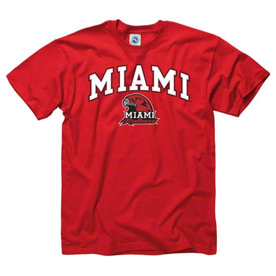 Miami University Redhawks Red Perennial II T-Shirt