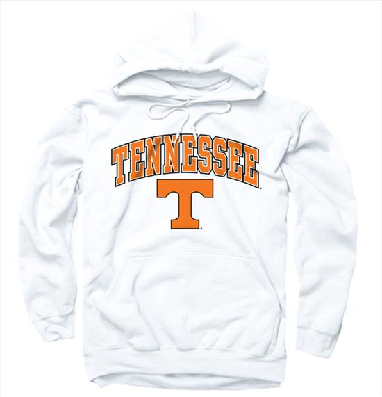 Tennessee Volunteers White Perennial II Hooded Sweatshirt