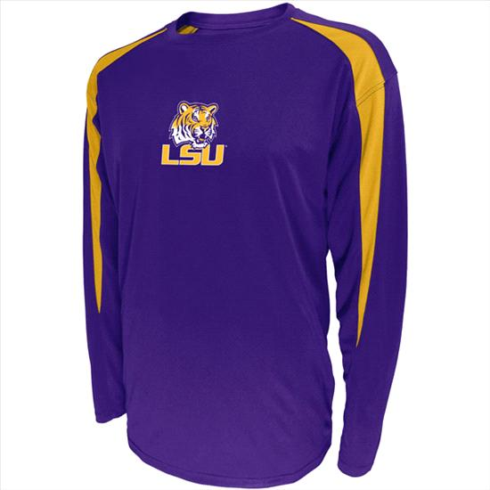 LSU Tigers Quick Count Performance Long Sleeve T-Shirt