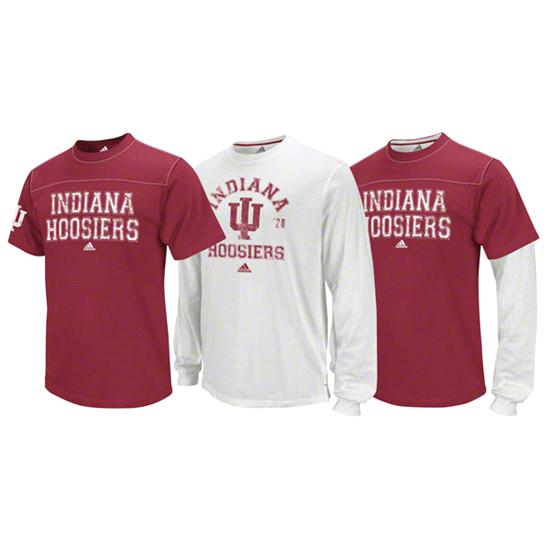 Indiana Hoosiers adidas 3-In-1 T-Shirt Combo Pack