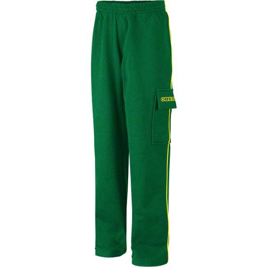 Oregon Ducks Youth Green Automatic Cargo Pants